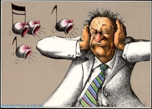 самый смешной анекдот про музыку