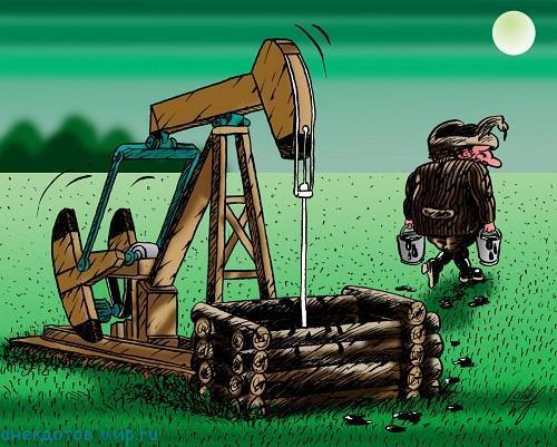Свежие анекдоты про нефть