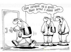 Новые анекдоты про ноги