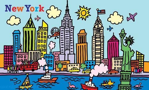 смешной анекдот про New York