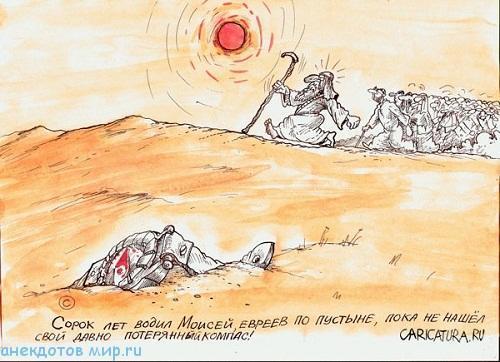 свежий анекдот про пустыню