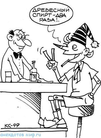 анекдот про спирт