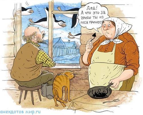 самый смешной анекдот про стариков