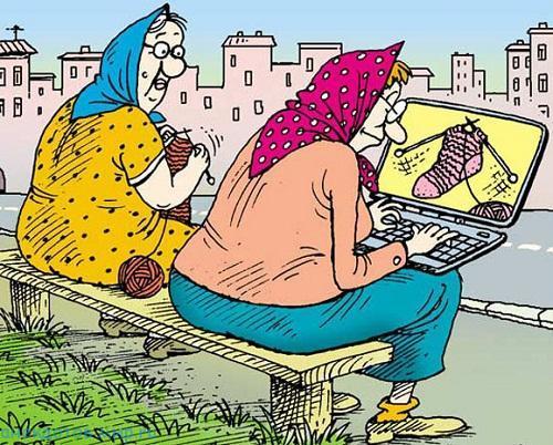 Смешные анекдоты про старушек
