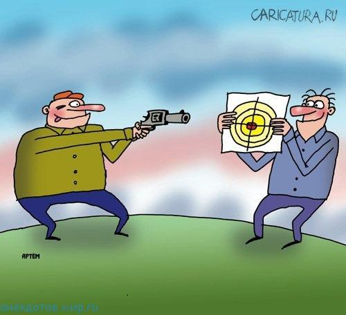анекдот про стрелков