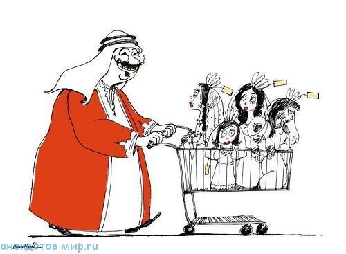 Анекдоты про шейхов