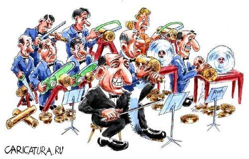 Анекдоты про оркестр