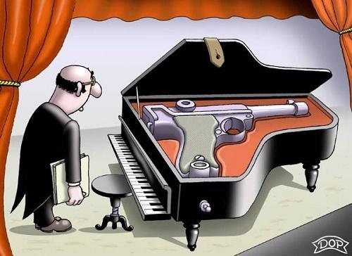 смешной анекдот про пианино