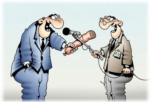анекдот про репортера