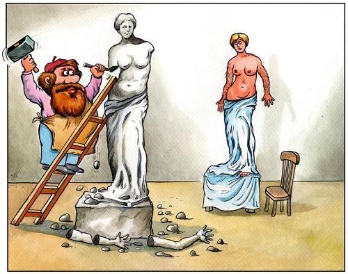 анекдот про скульптуру