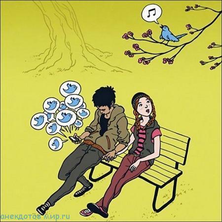 анекдот про твиттер