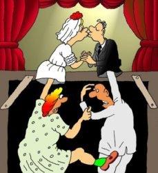 Смешные анекдоты про театр