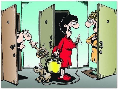 Свежие анекдоты про соседей