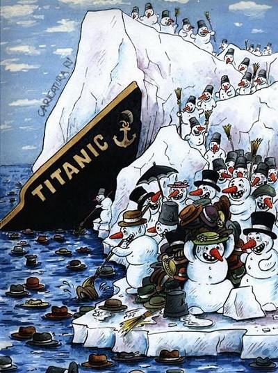 Смешные анекдоты про Титаник