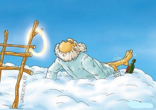 Лучшие анекдоты про Бога
