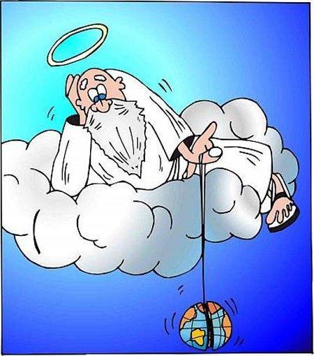 Анекдоты про Бога