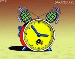 Свежие анекдоты про часы