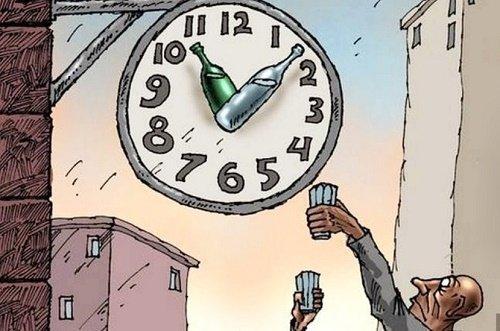 Лучшие анекдоты про часы