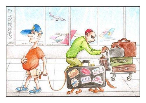 Анекдоты про чемодан
