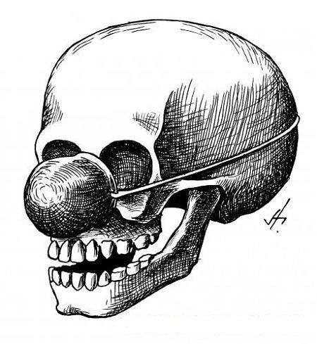 Анекдоты про череп