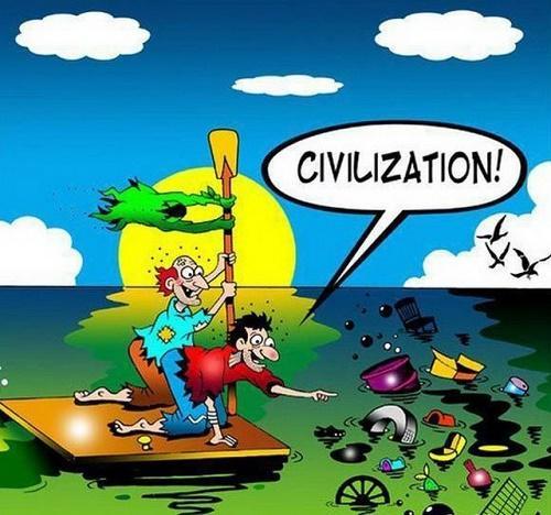 Анекдоты про цивилизацию