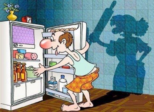 смешной анекдот про холодильник