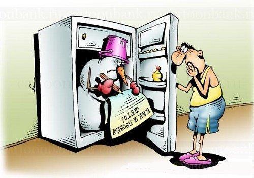 смешной до слез анекдот про холодильник
