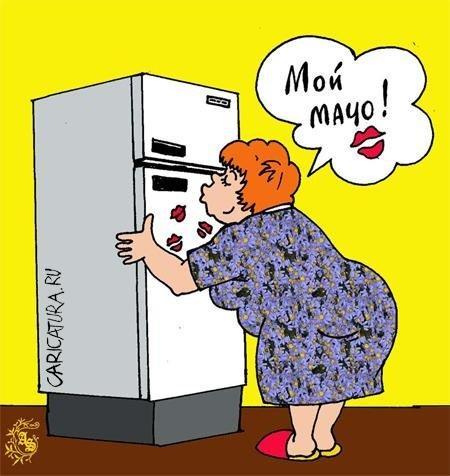 самый смешной анекдот про холодильник