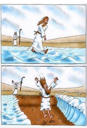 Лучшие анекдоты про Иисуса