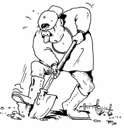 Read more about the article Смешные анекдоты про лопату