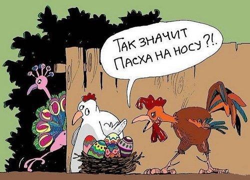 Анекдоты про Пасху