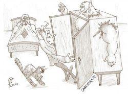 Смешные анекдоты про шкаф