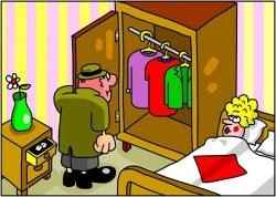 Анекдоты про шкаф