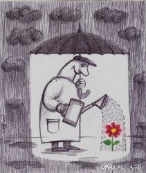 Анекдоты про зонтик