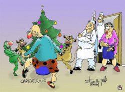 Очень смешные анекдоты про Новый год