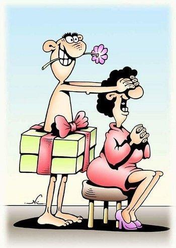 Короткие анекдоты про подароки