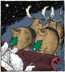 Смешные анекдоты про Санта-Клауса