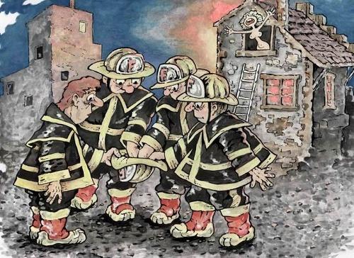 Read more about the article Анекдоты про пожарных