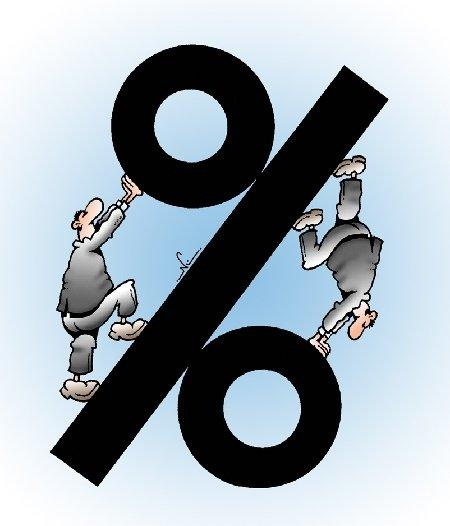 Свежие анекдоты про проценты