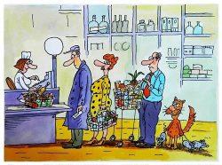 Смешные анекдоты про супермаркет