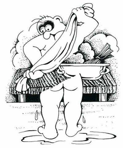 Read more about the article Очень смешные анекдоты про баню