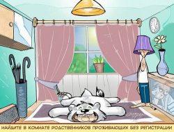 Свежие анекдоты про комнату