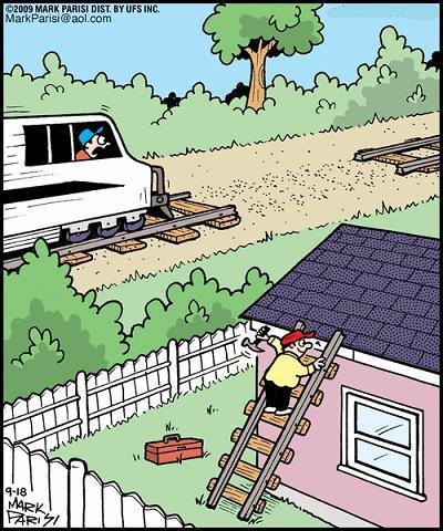 смешной анекдот про лестницу