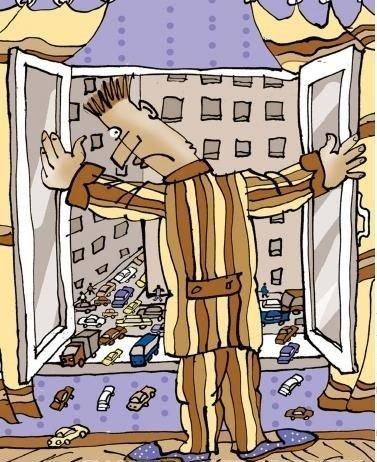 смешной анекдот про окно