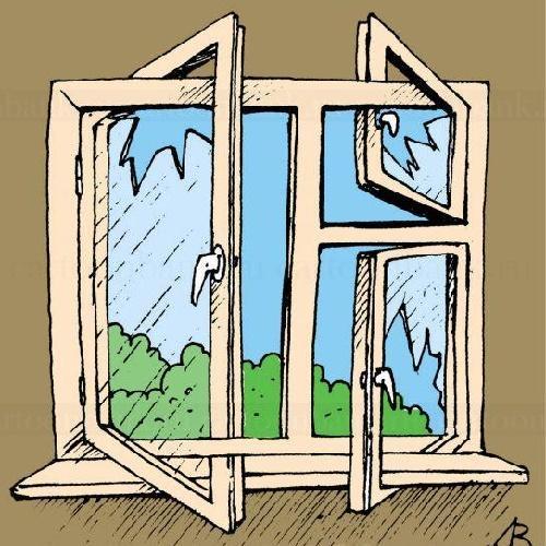 очень смешной анекдот про окно