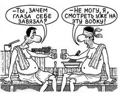 Анекдоты про сауну