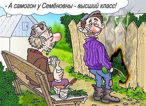 смешной анекдот про село