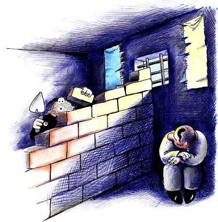 анекдот про стену
