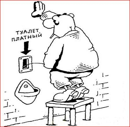 прикольный анекдот про туалет