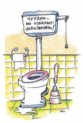 свежий анекдот про туалет